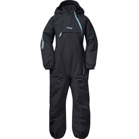 Bergans Lilletind Insulated Coverall Kids Solid Charcoal/Light Greenlake